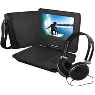 "EMATIC EPD707BL 7"" Portable DVD Player Bundles (Black) (R-SHAGEPD707BL)"