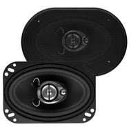 "Soundstorm 4X6"" 3-Way Speaker 220W Paper Cone (R-SLQ346)"