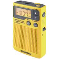 SANGEAN DT-400W Digital AM/FM Pocket Radio with Weather Alert (R-SNGDT400W)