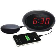 Sonic Alert SBT600ss Sonic Traveler(TM) Alarm Clock with Super Shaker(TM) (R-SONASBT600SS)