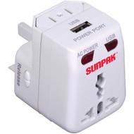 SUNPAK TRAVEL-ADAPT Universal Travel Adapter (R-SPKTRAVELADAPT)