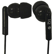 Supersonic IQ-106 BLACK Porockz Stereo Earphones (Black) (R-SSCIQ106BLACK)