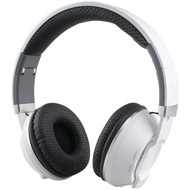 Supersonic IQ-129BT-W Over-Ear Bluetooth(R) Headphones with Microphone (White) (R-SSCIQ129BTW)