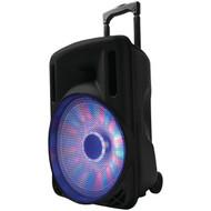 """Supersonic iq-3212djbt- BK 12"""" Portable Bluetooth(R) DJ Speaker (Black) (R-SSCIQ3212DJBTBK)"""