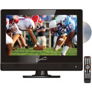 "Supersonic SC-1312 13.3"" 720p AC/DC Widescreen LED HDTV/DVD Combination (R-SSCSC1312)"