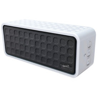 Supersonic SC-1366BT WHITE Rechargeable Portable Bluetooth(R) Speaker (White) (R-SSCSC1366BTWH)