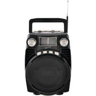 Supersonic sc-1390-BK Bluetooth(R) Portable 4-Band Radio (Black) (R-SSCSC1390BK)