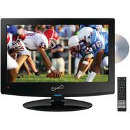 """Supersonic SC-1512 15.6"""" 720p AC/DC LED TV/DVD Combination (R-SSCSC1512)"""