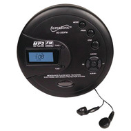 Supersonic SC-253FM Personal MP3/CD Player with FM Radio (R-SSCSC253FM)