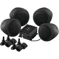 SOUNDSTORM SMC90BB Motorcycle/UTV 1,000-Watt Sound System with Bluetooth(R) (R-SSLSMC90BB)