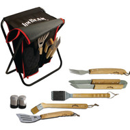JIM BEAM JB0103 9-Piece Grilling Set (R-STLAJB0103)