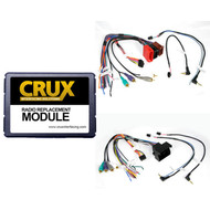 Crux Audi  Radio Replacement W/Swc Retention For Audi Vehicles (R-SWRAD55)
