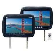"Monitor 11.2"" Widescreen Black In Headrest;Tview;Remote (R-T110PLBK)"