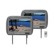 """Monitor 11.2"""" Widescreen Gray In Headrest;Tview;Remote (R-T110PLGR)"""
