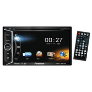 "Farenheit D.Din Am/Fm 6.2"" Touchscreen With Dvd & Bt (R-TI623B)"