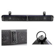"10-Speaker Bluetooth Soundbar, 2X 6.5"" Speakers, Dual Marine Tower Enclosures (R-TPS10-1-43CSC654)"