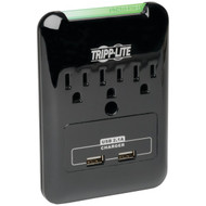 TRIPP LITE SK30USB 3-Outlet Surge Protector with 2 USB Ports (R-TRPSK30USB)