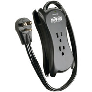 TRIPP LITE Traveler3USB 3-Outlet Travel-Size Surge Protector with 2 USB Ports (R-TRPTRAVELER3USB)