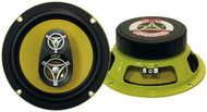 Pair Pyle PLG8.3 8'' 400 Watt Three-Way Speakers Car Audio