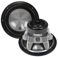 "Audiopipe 12"" Woofer 1600W Max 4 Ohm Dvc Flat Gray (R-TXXAPC12FG)"