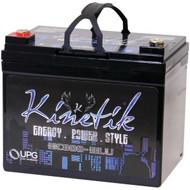 KINETIK 40922 HC BLU Series Battery (HC800, 800 Watts, 35 Amp-Hour Capacity, 12 Volts) (R-UBC40922)