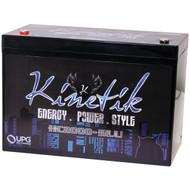KINETIK 40927 HC BLU Series Battery (HC2000, 2,000 Watts, 90 Amp-Hour Capacity, 12 Volts) (R-UBC40927)