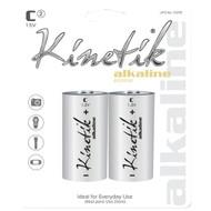 KINETIK 53319 Alkaline Batteries (C, Carded, 2 pk) (R-UBC53319)