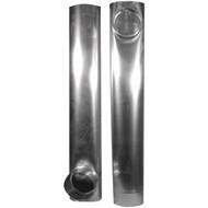"DEFLECTO DAF2 Skinny Duct(TM) Telescoping Aluminum Vent (27""- 48"") (R-VENDAF2)"