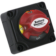 BATTERY DOCTOR 20393 Mini Master Disconnect Switch (Dual Battery, 4 Position) (R-WIR20393)