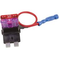 BATTERY DOCTOR 30003 Tapa Circuit(TM) 16-Gauge 10-Amp Fuse Holder Slot (ATO/ATC) (R-WIR30003)