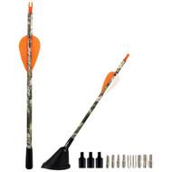 """AMMO TENNA ARHC 9"""" Arrow Replica Antenna with Fiberglass Mast (Hunting Camo) (R-MECCARHC)"""