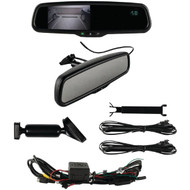 "IBEAM TE-RVMTC 4.3"" Rearview Mirror with Compass & Temperature (R-MECTERVMTC)"