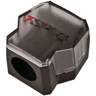 T-SPEC V12DB-1124 v12 SERIES 1/0-Gauge In/Two 4/8-Gauge Out Compact Block Distribution (R-MECV12DB1124)