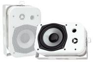 """Pair Pyle PDWR40W 5.25"""" Indoor/Outdoor Waterproof Speakers White"""