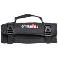 12 SURVIVORS TS42002B Mini First Aid Rollup Kit (R-YUKTS42002B)