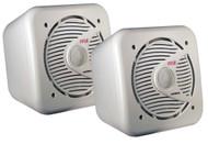 Pair Pyle PLMR63 6.5'' 200 Watt Two-Way Shielded Marine Water Proof Speakers