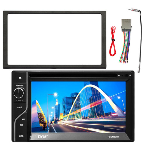 Pyle 65 touch screen tftlcd monitor mp3usb amfm bluetooth image 1 greentooth