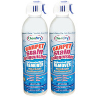 Chem-Dry C196-2 Carpet Stain Extinguisher, Bilingual Packaging (2 pk) (R-CMYC1962)