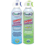 Chem-Dry C198-C317 Stain Extinguisher/Carpet Deodorizer Combo Pack (Apple Cinnamon) (R-CMYC198C317)