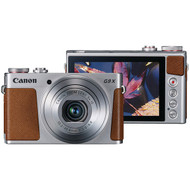 CANON 0924C001 20.0-Megapixel PowerShot(R) G9X Digital Camera (Silver) (R-CND0924C001)