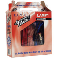 Legacy LAMP1 1000 Watt 8 Gauge Amplifier Installation Kit