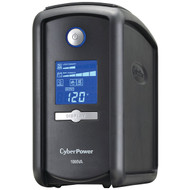 CyberPower CP1000AVRLCD 9-Outlet Intelligent LCD UPS System (1,000VA/600W) (R-CYBCP1000AVR)