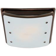 Hunter Home Comfort 90065 Ellipse 100cfm Ceiling-Exhaust Bath Fan (Imperial Bronze) (R-HHC90065)