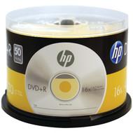 HP DR16050CB 4.7GB 16x DVD+Rs (50-ct Cake Box Spindle) (R-HOODR16050CB)
