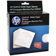 HP HPWS100RB CD/DVD Storage Sleeves (100 pk) (R-HOOHPWS100RB)