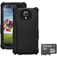 Trident S4 Electra Case With Scandisk Micro Sd 8gb (R-KITS4BKE8)