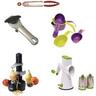 Starfrit Gadget Kit With Rotato Express, Tongs, Can Opener, Measuring Cups, Drum (R-KITSRFGADGET1)