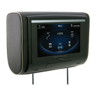 "Power Acoustik 9"" Headrest Touchscreen Dvd 3 Color Skins (R-HDVD94T)"