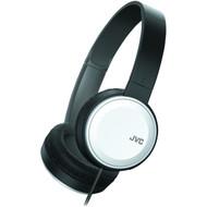 JVC HAS190MW Colorful On-Ear Headphones (White) (R-JVCHAS190MW)