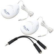 Sangean Pillow Speaker Kit With Two Speakers And 3.5mm Splitter (R-KITSPKSPLIT)